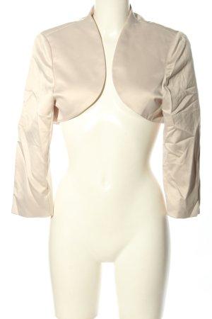 Marie Lund Bolero crema elegante