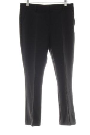 Marie Lund Pantalone a pieghe nero stile professionale
