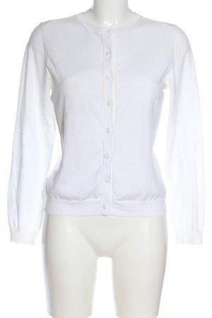 Marie Lund Cardigan bianco stile casual