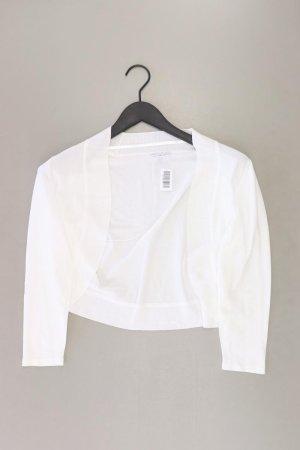 Marie Lund Cardigan Größe 40 weiß aus Viskose