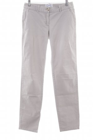 Marie Lund Chinohose hellgrau Allover-Druck Casual-Look
