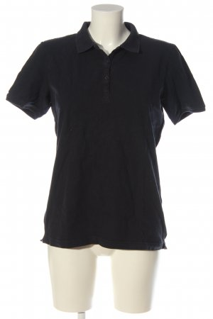 Marie Lund Copenhagen Camiseta tipo polo negro look casual