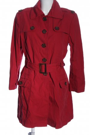 Marie Lund Trenchcoat rot Casual-Look
