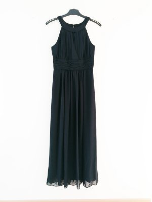 Marie Lund Empire Dress black polyester