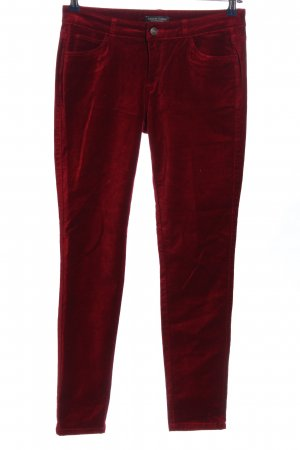Marie Lund Five-Pocket-Hose rot Casual-Look
