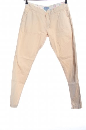 Marie Lund Pantalone cinque tasche crema stile casual