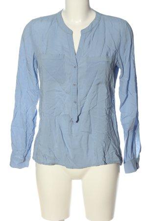 Marie Lund Camicia blusa blu stile casual