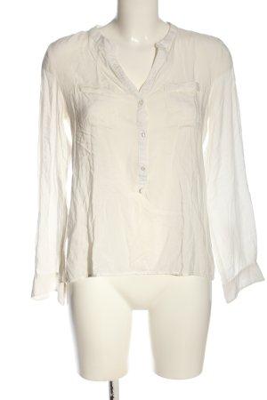 Marie Lund Camicia blusa bianco stile professionale