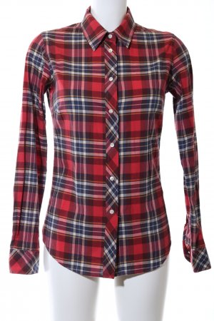 Marie Lund Karobluse Karomuster Casual-Look