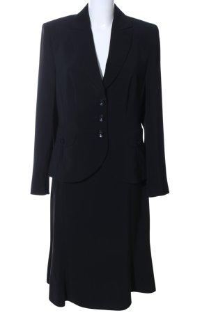 Marie Lund Tailleur noir style d'affaires