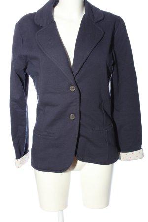 Marie Lund Korte blazer blauw zakelijke stijl