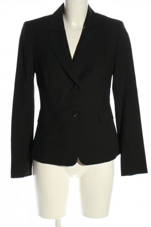 Marie Lund Korte blazer zwart zakelijke stijl