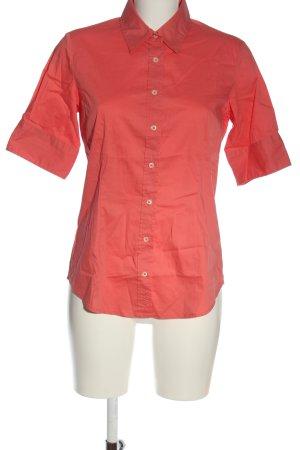 Marie Lund Camicia a maniche corte rosso stile professionale