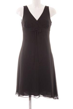 Marie Lund Kurzarmkleid schwarz Elegant