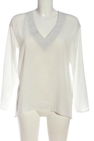 Marie Lund Camicetta a maniche lunghe bianco stile professionale