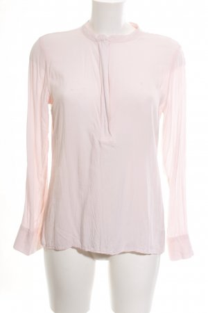 Marie Lund Langarm-Bluse pink Casual-Look