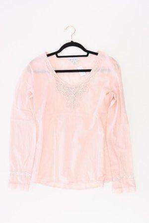 Marie Lund Langarmbluse Größe 38 pink aus Baumwolle