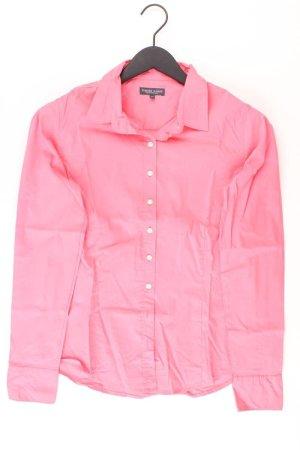 Marie Lund Camicetta a maniche lunghe rosa chiaro-rosa-rosa-fucsia neon Cotone