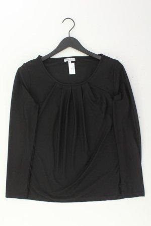 Marie Lund Langarmbluse Größe L schwarz aus Polyester