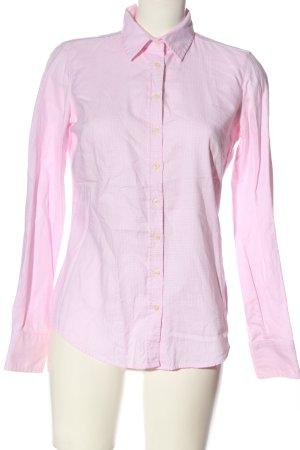 Marie Lund Langarmhemd pink Webmuster Business-Look