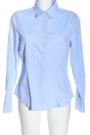 Marie Lund Langarmhemd blau Casual-Look