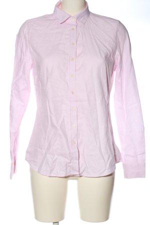 Marie Lund Camicia a maniche lunghe rosa stile professionale