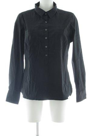 Marie Lund Langarmhemd schwarz Casual-Look