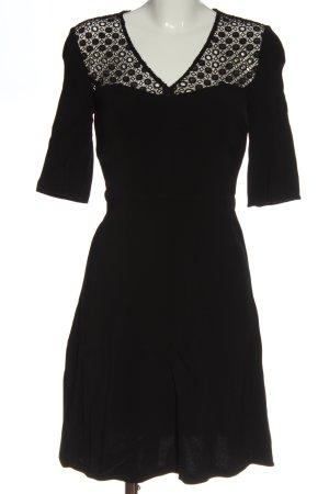 Marie Lund Langarmkleid schwarz Elegant