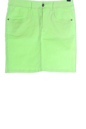 Marie Lund Mini rok groen casual uitstraling