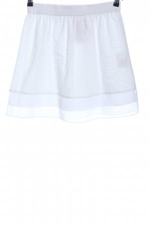 Marie Lund Mini rok wit casual uitstraling