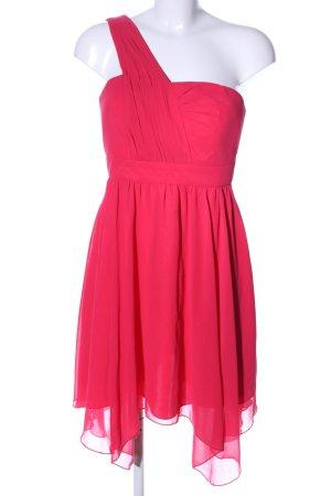 Marie Lund One-Shoulder-Kleid rot Elegant