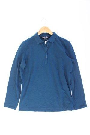 Marie Lund Polo blu-blu neon-blu scuro-azzurro Cotone