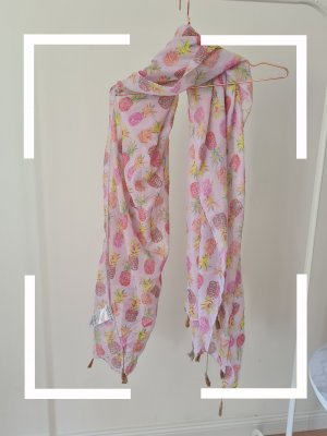Marie Lund Fringed Scarf multicolored