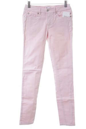 Marie Lund Jeans skinny rosa pallido stile casual