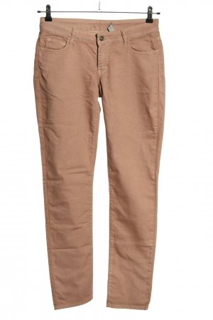 Marie Lund Jeans slim fit marrone stile casual
