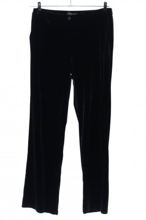 Marie Lund Pantalone jersey nero stile casual