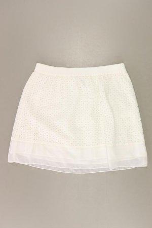 Marie Lund Stretch Skirt natural white cotton