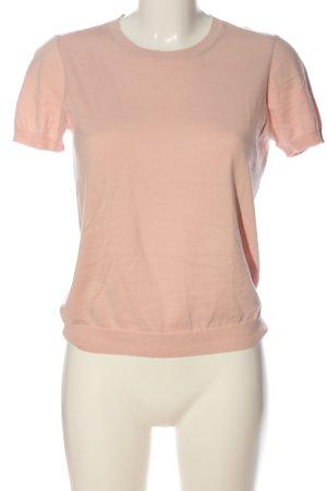 Marie Lund T-shirts en mailles tricotées rose style décontracté