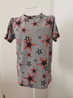 Marie Lund t-shirt grau Sterne