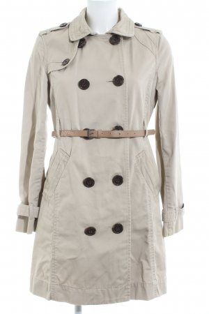 Marie Lund Trenchcoat wollweiß Casual-Look