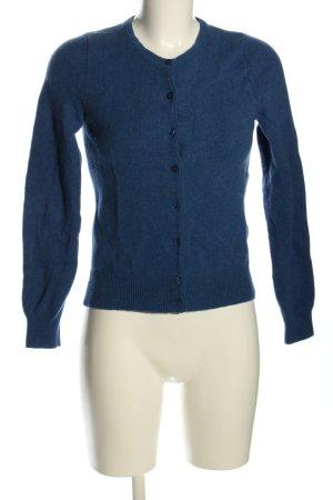 Marie Lund Giacca di lana blu stile casual