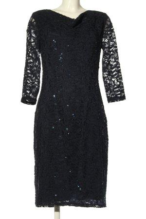 Marie Noir Cocktailkleid schwarz Elegant