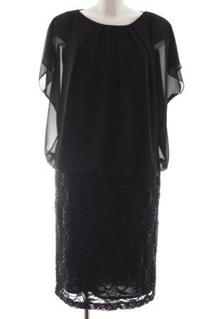 Marie Noir Minikleid schwarz Elegant