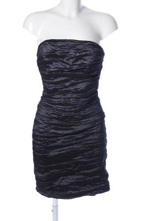 Marie Noir schulterfreies Kleid schwarz Elegant