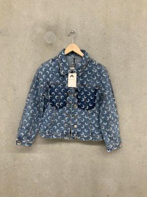 Denim Jacket neon blue