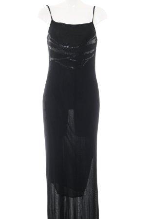 Mariella Rosati Maxikleid schwarz Elegant