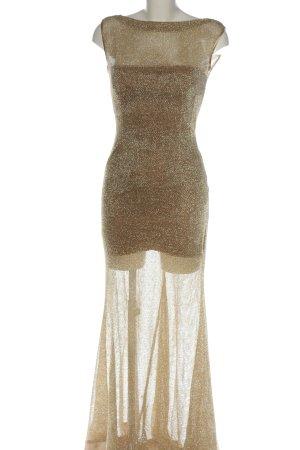 marija sindelic Vestido de baile color oro elegante