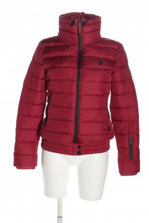 Marikoo Outdoor Jacket pink quilting pattern casual look