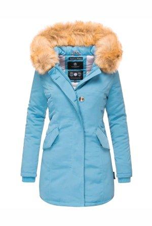 Mariko Winter Coat cornflower blue