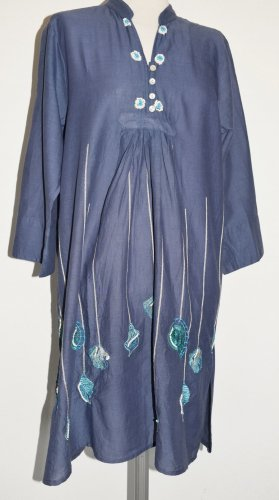 Marila - Tunika Kleid aus Baumwolle mit Stickerei